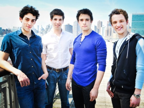 "broadwaycom:  Exclusive! The new newsboys of NEWSIES on ""desert island"" picks, dream roles, offstage hobbies & more"