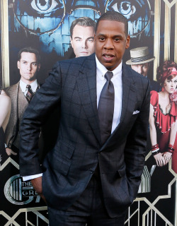 Jay-Z was back in New York City on Wednesday night, to attend the premiere of The Great Gastby.