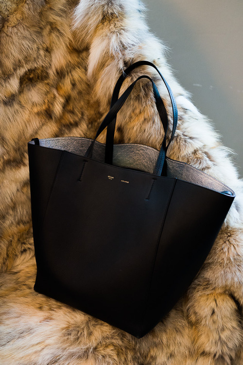 I was totally in love with these Celine shopper totes until I realized they are all in excess of $2K… yikes!
