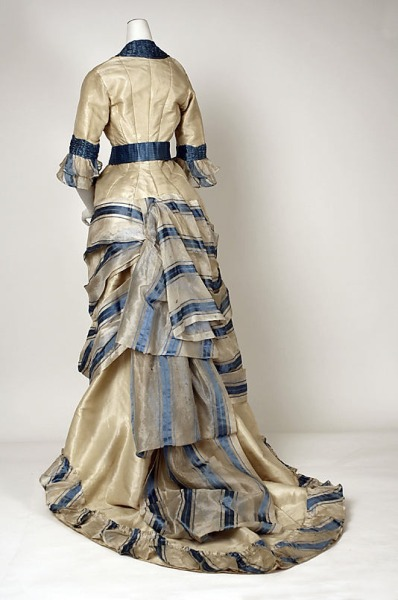 Day Dress | 1880 | Met Museum