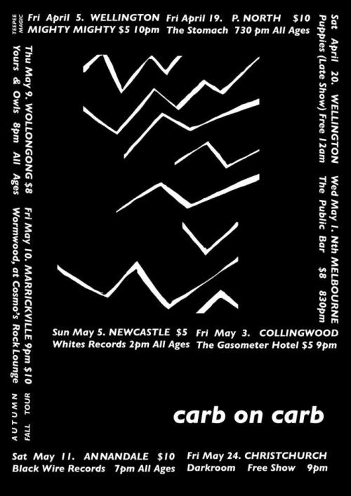 No Art, Carb On Carb, Mere Women, Black Wire Records, 11 May 2013