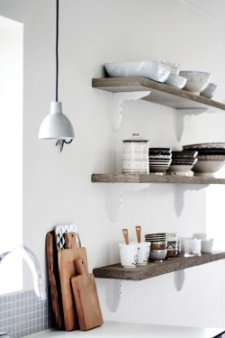 myidealhome:   open shelves