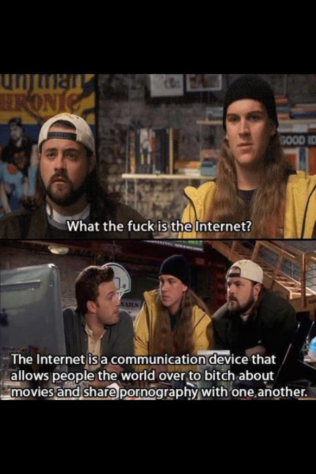 daysofxavierspast:  Jay and Silent Bob speak the truth