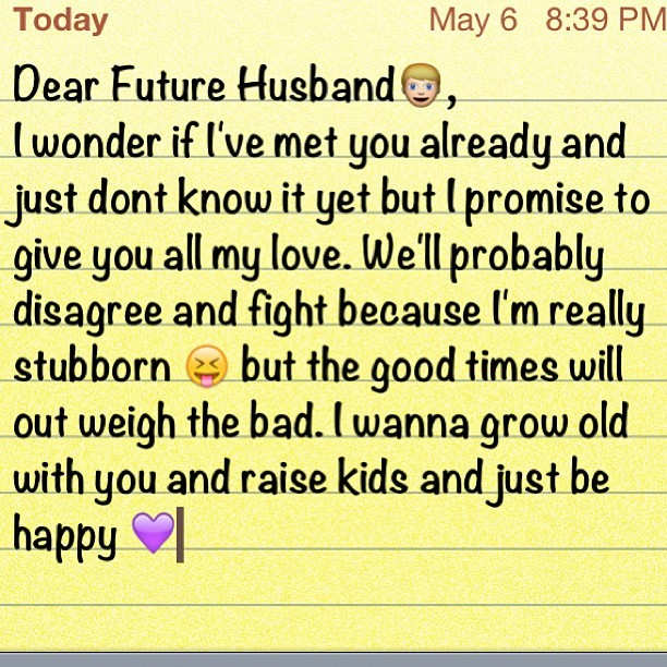 #Future #Husband