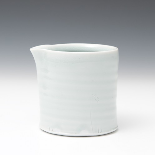 "Milk jug by Anne Mette Hjortshøj, via Goldmark  Subtle profile curve that references the traditional ""jug"" shape while retaining an essentially cylindrical form"