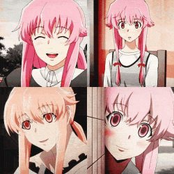 Gasai Yuno *innocent mode*