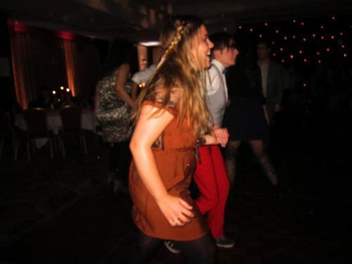 High intensity Ceilidh dancing at the GULGBT*Q Ceilidh