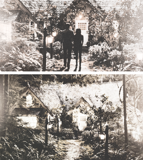 Bella & Edward, cottage.