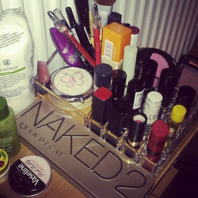Love my new makeup storage