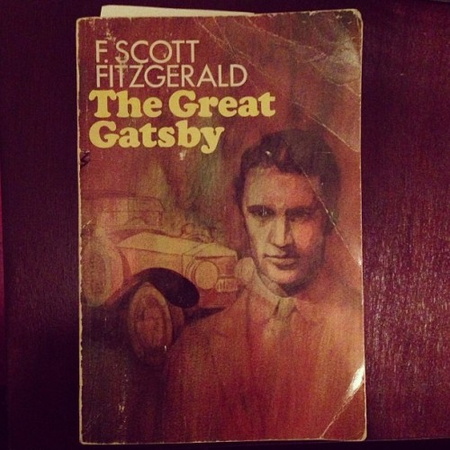 What I'm (re)reading: An early 50s edition of The Great Gatsby that I found in my mom's basement. It has her notes from college plus notes from the previous owner (she bought it used in the 70s).