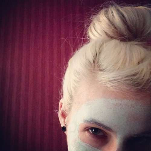 Face masks and DIY sock buns. Girling out today.