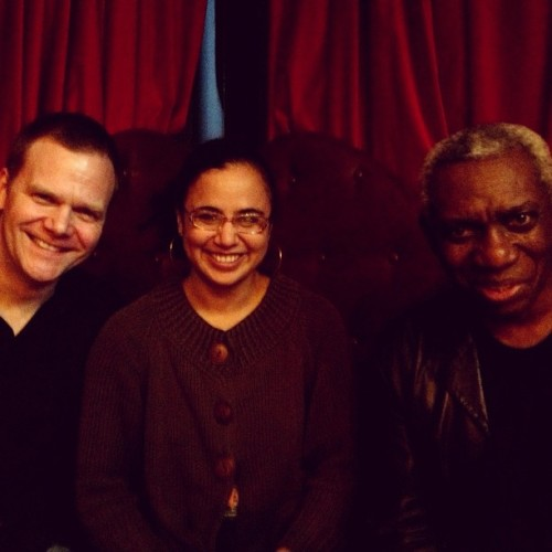 Page Meets Stage: Laura Yes Yes meets Yusef Komunyakaa, hosted by Taylor Mali