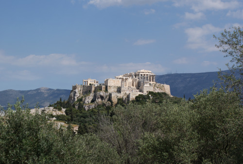 The Acropolis as seen by Pnyx