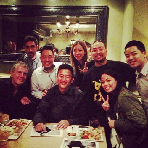 Knocksteady fam, Roy Choi, and Anthony Bourdain