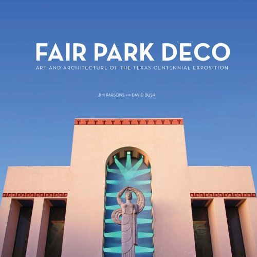 Fair Park Deco, Dallas, Texas I just ordered a copy of this book and I can't wait for it to arrive next week! http://www.fairparkdeco.com/