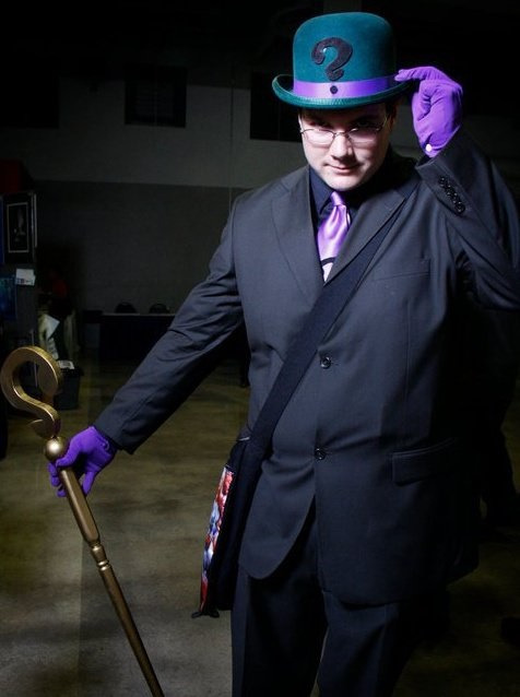 thedarkn3rd:  More Riddler Cosplay