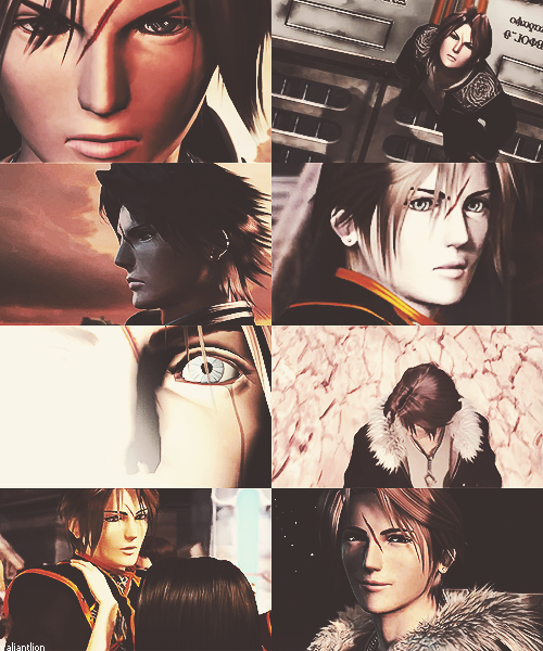 Photo collage: Squall Leonhart