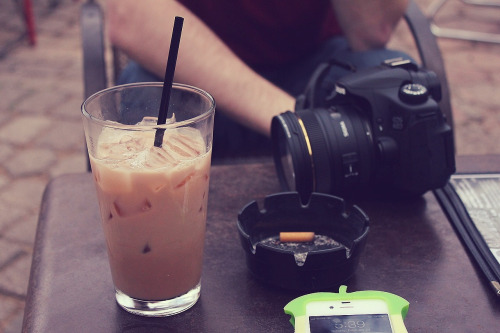 Iced Chai | Spider House Cafe
