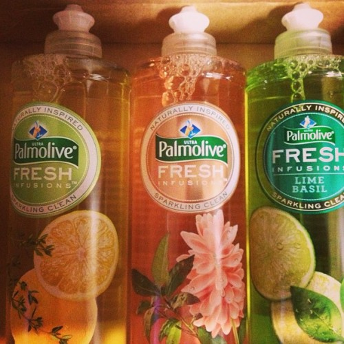 First Influenster box! Palmolive Fresh Infusions - love the bottles (pretty) and they all smell very fresh and delish…especially the lime basil!!