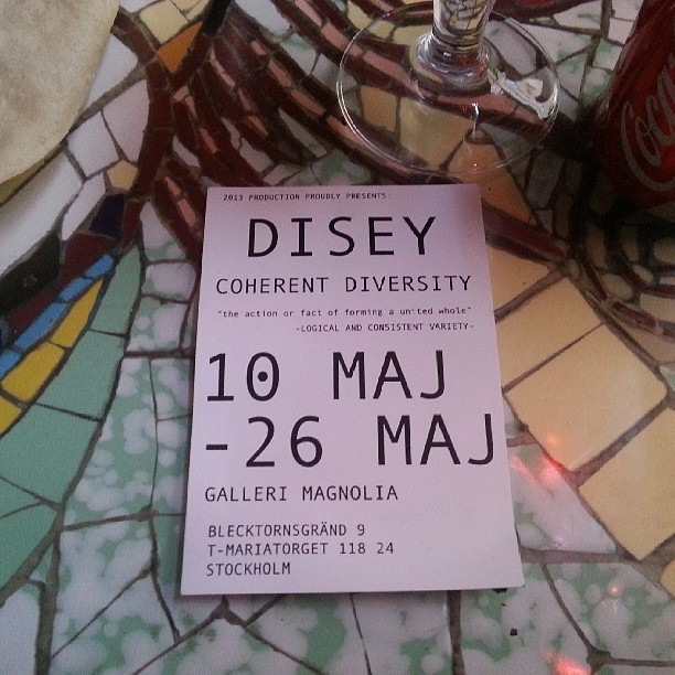 hlstore:  Its a classic. Disey exhibition in Stockholm.