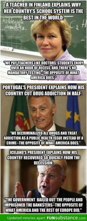 funsubstance:  Countries doing it right