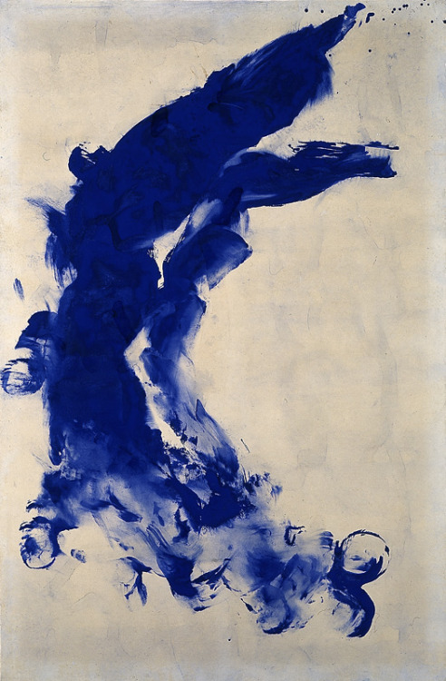 arpeggia:  Yves Klein - Anthropométrie sans titre (ANT 130), 1960 | More posts