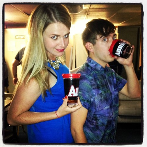 kevinmchale-news:  Got our Annie tumblers. That's all that matters. @kevinmchale