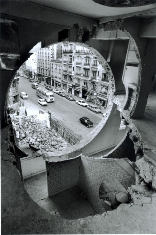 Conical Intersect, Paris, 1975 — Gordon Matta-Clark