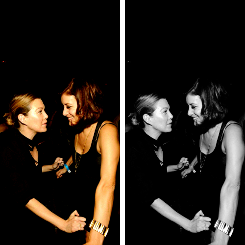 Kate Walsh x Ellen Pompeo - Tao Nightclub Three Year Anniversary Celebration