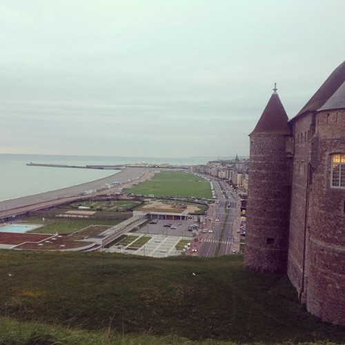 #coast #france #castle #dieppe  (at Dieppe)
