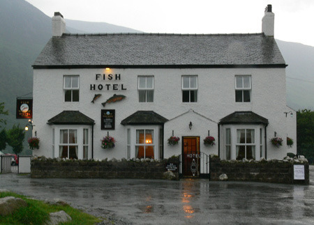 Fish Hotel, Buttermere. My favorite town.