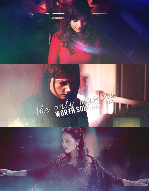 clara-oswald:  run, you clever boy.