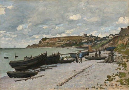 Claude Monet       Sainte-Adresse, 1867