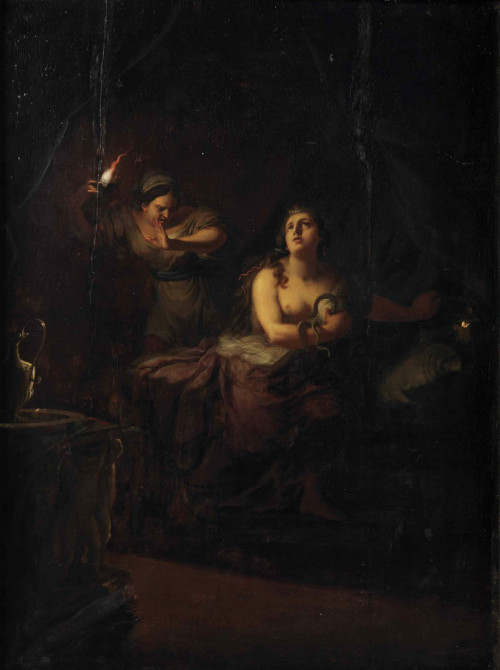 monsieurleprince:  Johann Jakob Dorner I (1741 - 1813) - The Death of Cleopatra
