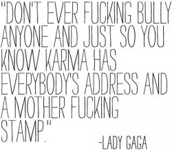 Gaga on Bullying