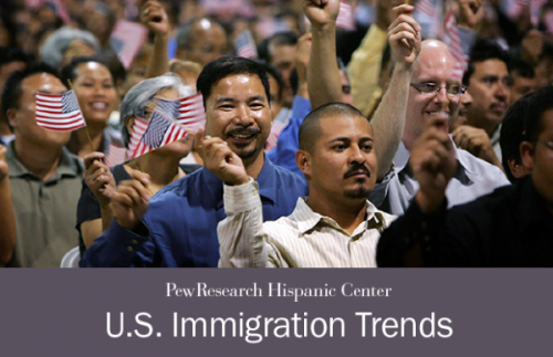 See our new slideshow on U.S. Immigration trends.