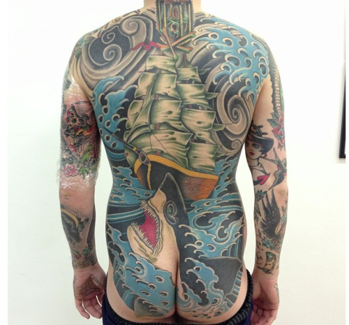 fuckyeahtraditionaltattoos:  Sam Ricketts