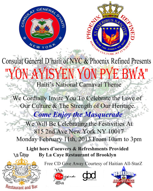 Haitian Kanaval In New York City…. Are You Ready?… Festivities Start On Kanaval Starts As Of Sunday… Our Celebration Begins on Monday!!!