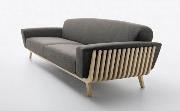 weandthecolor:  Hamper Sofa The two Italian interior designers and architects Ezio Riva and Arturo Montanelli designed the beautiful Hamper Sofa for Passoni Nature. More about the sofa on WE AND THE COLORWATC//Facebook//Twitter//Google+//Pinterest  Sit with #Style