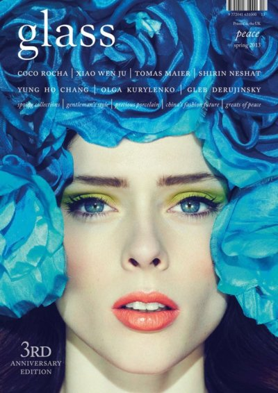 Coco Rocha for Glass Magazine [Spring 2013]