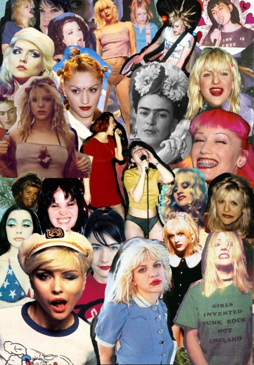 My second collage! With the GRRRLS! <333
