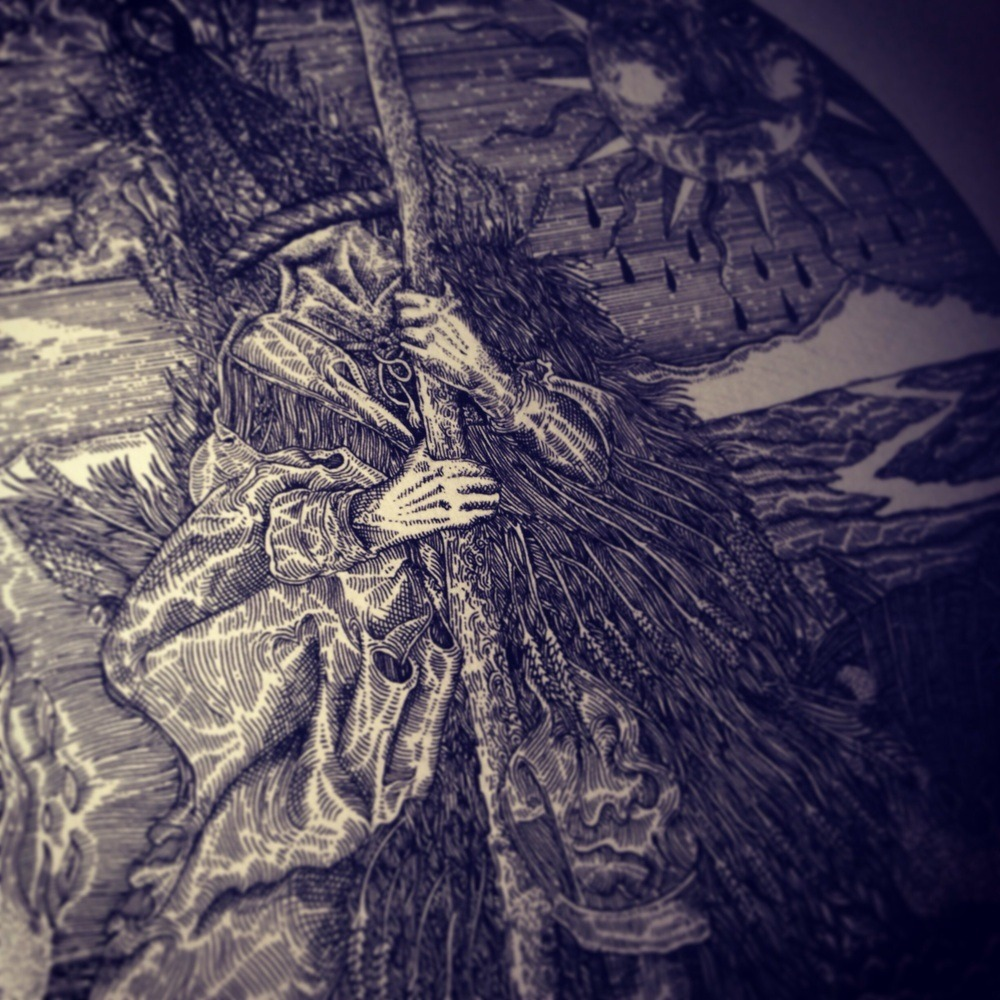 Sin Eater Illustrations In The Store To Night My Winter Solstice