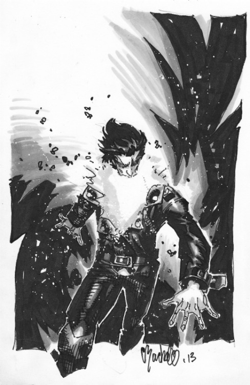 blithefool:   Chamber by Chris Bachalo via comicartfans.com