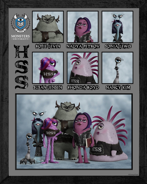 Monsters University reveals sorority and fraternity artwork Monsters University has continued its canny promo push by revealing a host of new artwork, featuring the fraternities and sororities of the titular educational institute…