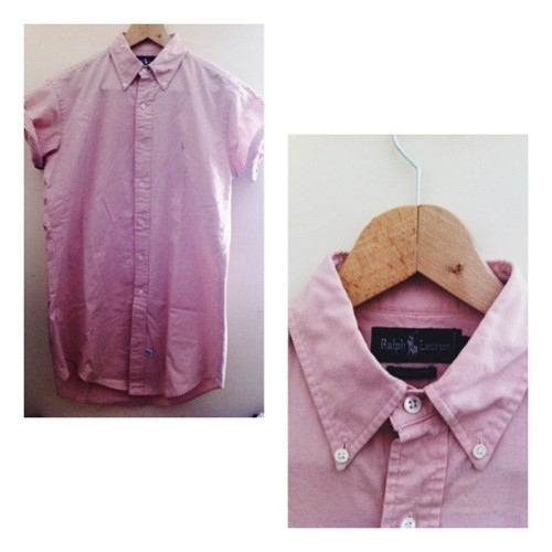 tanzx:  For sale, Ralph Lauren Short Sleeve Shirt, Medium, inbox me if interested or email me! #ralphlauren #forsale #vsco #vscocam