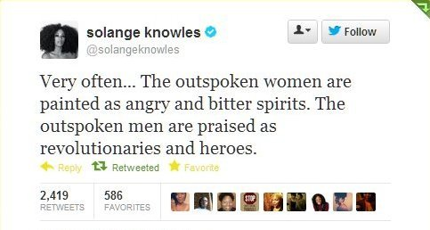 More love for Solange.