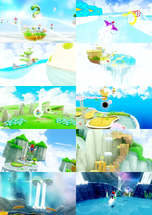 faize:  Super Mario Galaxy  ಥ_ಥ It is so… beautiful.