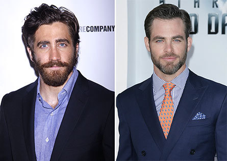 Jake and Chris, in discuss to appear in a movie version of Sondheim's Into the Woods.