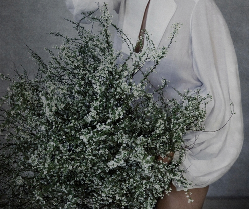 blssom:  Miss Invisible (cropped) Sera Park and Hayan Ho photographed by Koo Bohn Chang for Vogue Korea April 2013