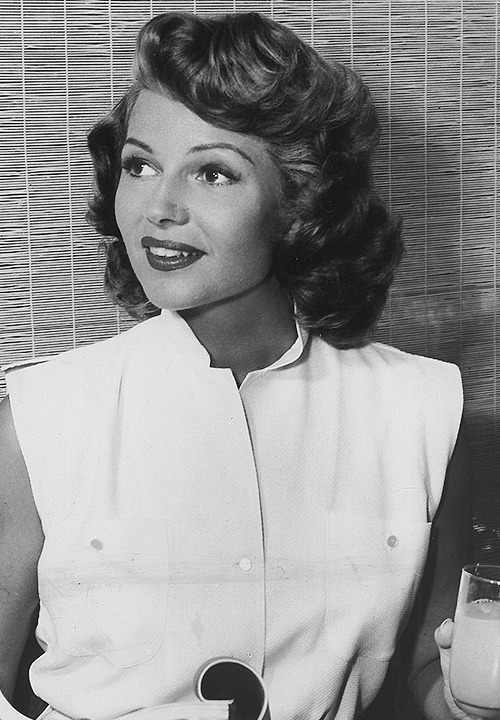 deforest:  Rita Hayworth at breakfast